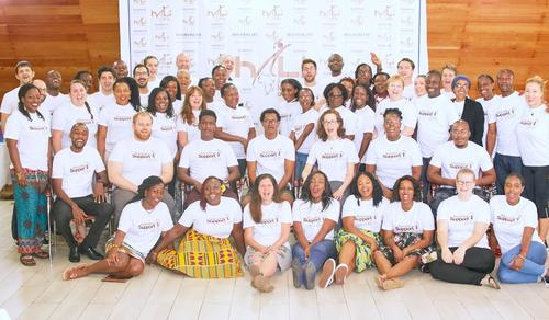 HALI Access Network members at the fourth annual Indaba in Ada, Greater Accra, Ghana.