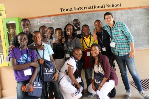Yale Young African Scholars 2018 Program Participants in Ghana.