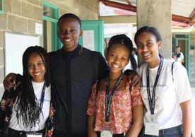 Participants of the Yale Young African Scholars 2018 Program.